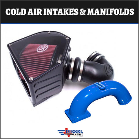 Cummins 1998 – 2002 24V 5.9L Cold Air Intakes & Manifolds