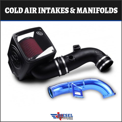 Duramax 2004.5 – 2005 LLY Cold Air Intakes & Manifolds
