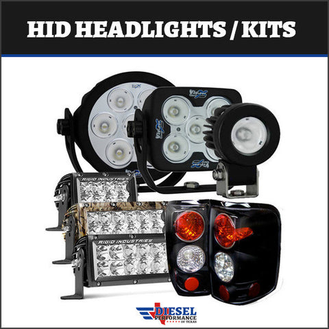 Powerstroke 2007-2010 6.4L     HID Headlights / Lighting Kits