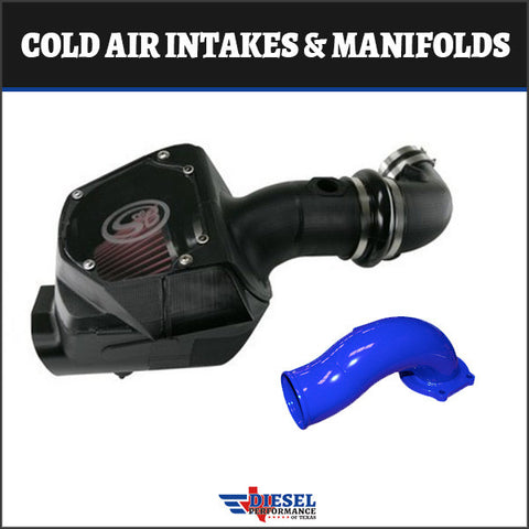 Powerstroke 2007-2010 6.4L Cold Air Intakes & Manifolds