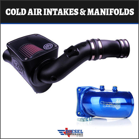 Powerstroke 2003-2007 6.0L Cold Air Intakes & Manifolds