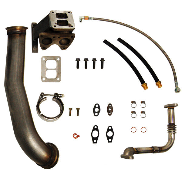 PPE 1160056 T4 Turbo Installation Kit   2006-2010  Chevy 6.6 Duramax