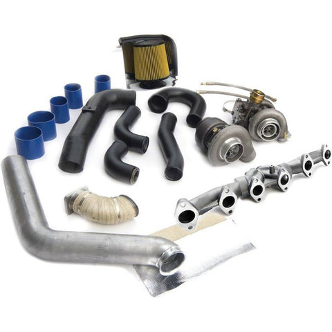 BD-Power 1045325 Super B Twin Turbo Upgrade Kit 1998.5-2002 Dodge 5.9L Cummins w/ Super B Single