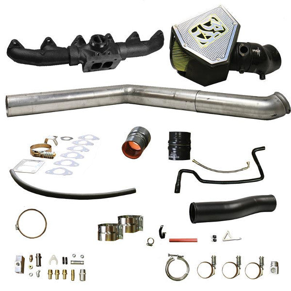 BD-Power 1045701 Rumble B S400 Turbo Installation Kit  2007.5-2009 Dodge 6.7L Cummins