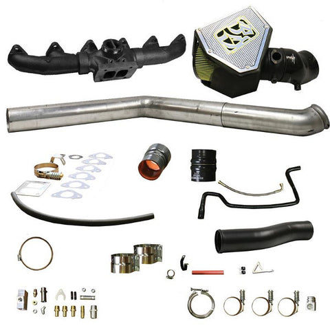 BD-Power 1045702 Rumble B S400 Turbo Installation Kit 2010-2012 Dodge 6.7L Cummins