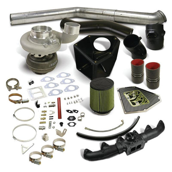 BD-Power 1045717 Rumble B S366SX-E Turbo Kit 2003-2007 Dodge 5.9L Cummins (550HP-650HP)