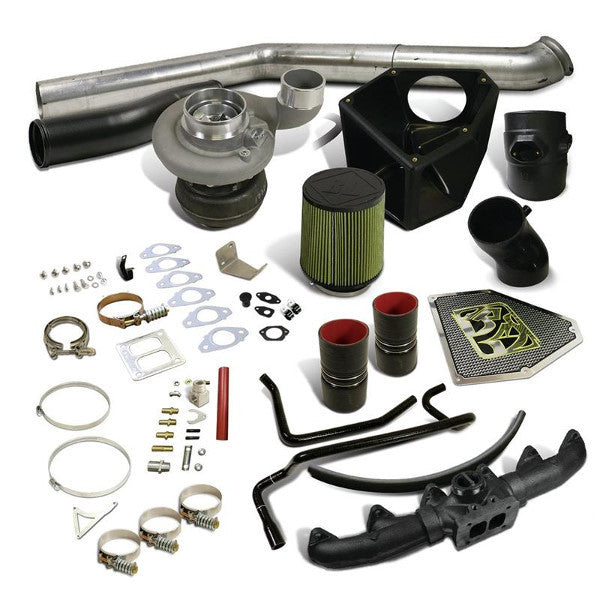 BD-Power 1045732 Rumble B S366SX-E Turbo Kit 2007.5-2009 Dodge 6.7L Cummins (550HP-650HP)