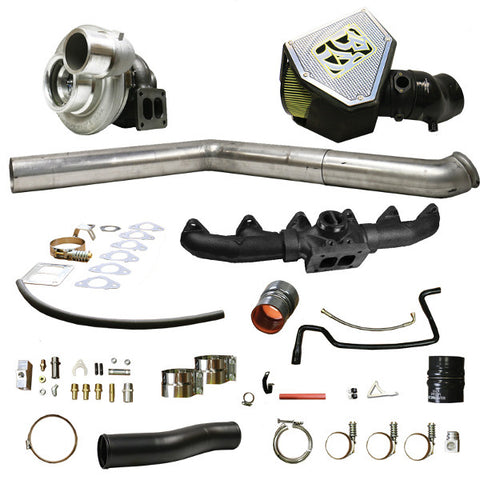 BD-Power 1045740 Rumble B S467 Turbo Kit 2010-2012 Dodge 6.7L Cummins (500HP-650HP)