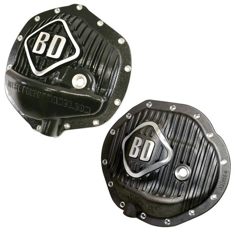 BD-POWER 1061827 FRONT & REAR DIFFERENTIAL COVER PACK  2003-2013 DODGE RAM 2500 4WD | 2003-2012 DODGE RAM 3500 4WD