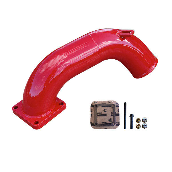 Pusher Intake Manifold 1994 - 1998 Dodge Cummins 12v  (Red)