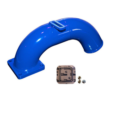 Pusher Intake Manifold 1998.5 - 2002 Dodge Cummins  (Blue)