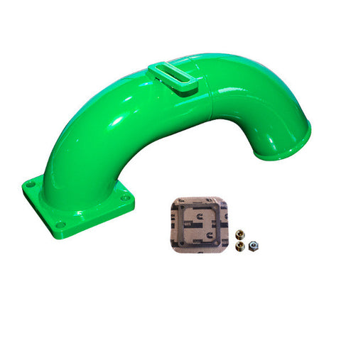 Pusher Intake Manifold 1998.5 - 2002 Dodge Cummins  (Green)