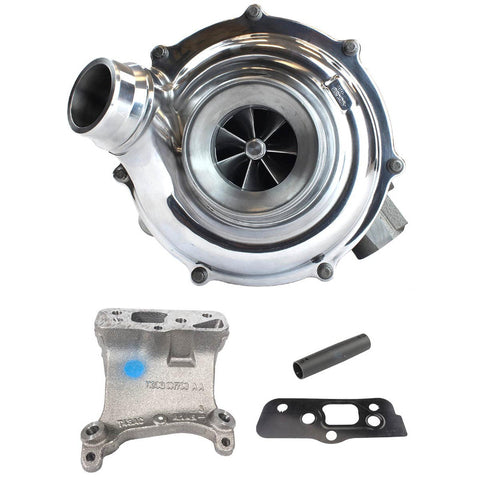 Industrial Injection 32E103-XR2 2015-2016 Ford 6.7L Turbo Kit with Pedestal – XR2 VGT