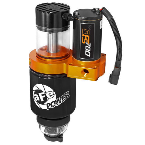 AFE 42-12036 DFS780 Fuel System (Part-Time Operation) 2013-2019 Dodge 6.7L Cummins (Works With Factory Pump)