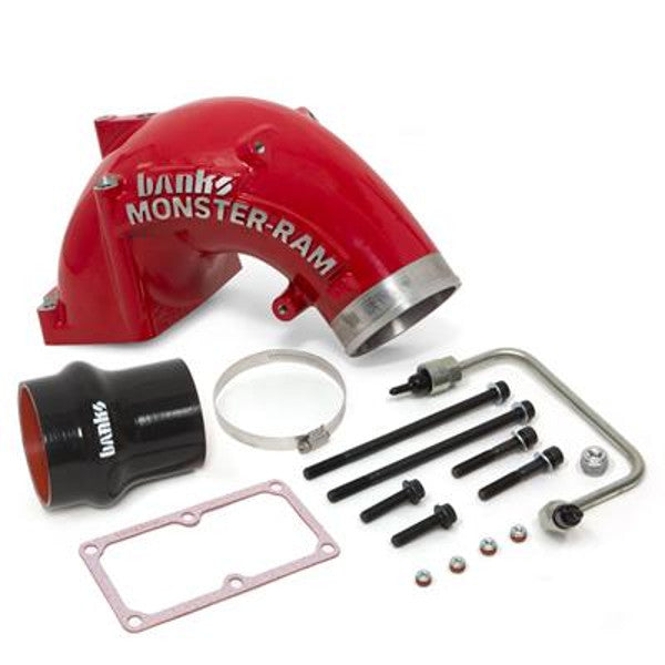"Banks Power 42790 & 42790-PC  4"" Monster-Ram Intake  2007.5- 2018 Dodge 6.7L Cummins"