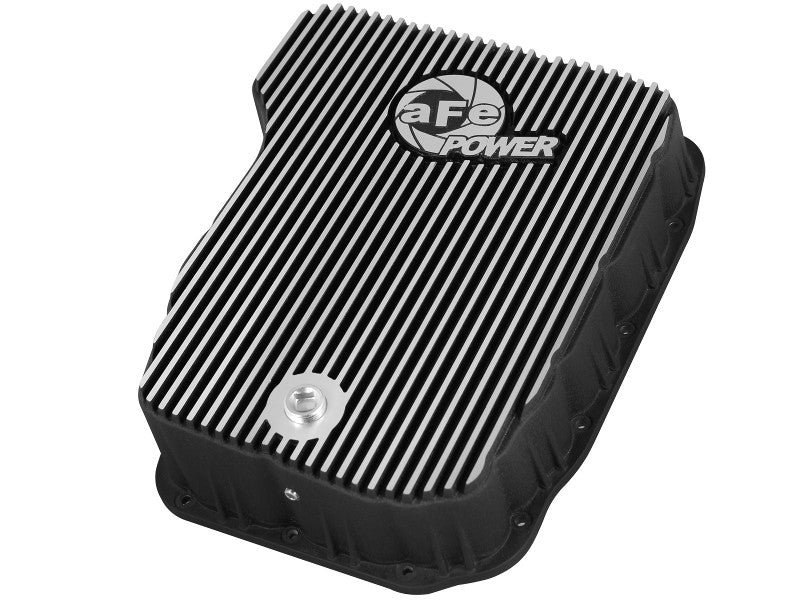 AFE 46-70062 DEEP TRANSMISSION PAN  Black with machined fins 2007-2018 Cummins