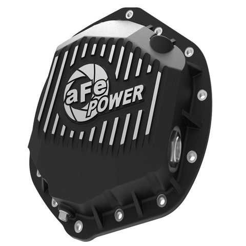 AFE 46-70392 Pro Series Rear Differential Cover Black w/ Machined Fins   	 Dodge Cummins 2014-2018