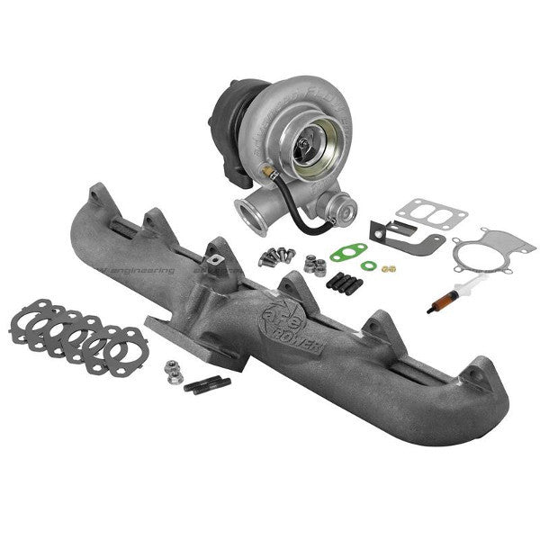 AFE 46-60060-MB BladeRunner Street Series Turbo &  Manifold 1998.5-2002 Dodge 5.9L Cummins