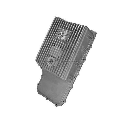 AFE 46-70180 TRANSMISSION PAN (RAW FINISH) 2011-2019 FORD 6.7L POWERSTROKE