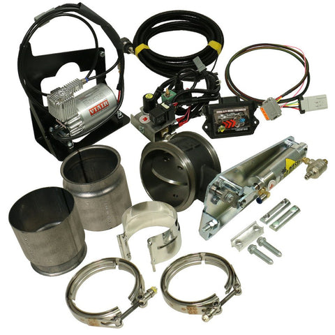 ( BD Diesel ) 1027345 6.7L CUMMINS  BRAKE (REMOTE) DODGE 2007.5 - 2018 W/NON-VGT TURBO & 5.0IN  - KIT C/W AIR COMPRESSOR