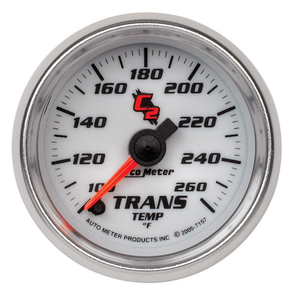 "Auto Meter C2  7157   2-1/16"" TRANSMISSION TEMPERATURE, 100-260 °F"