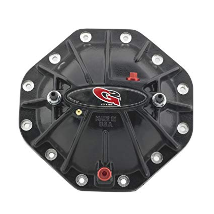 G2  TORQUE DIFFERENTIAL COVERS  ( Front )  40-2028-1ALB  GLOSS BLACK W/LOAD BOLTS   2003-2013 Dodge Cummins Chrysler 9.25