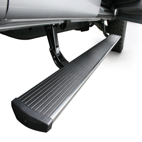 AMP Research PowerStep Running Boards (Hard wired)  (Black) - 75134-01A  2008-2016  Ford Powerstroke Super Duty F-250/F-350/F-450 Regular Cab/SuperCab/SuperCrew