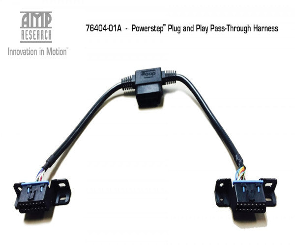 AMP 76404-01A Research Pass Through OBD II Harness  AMP-76404-01A