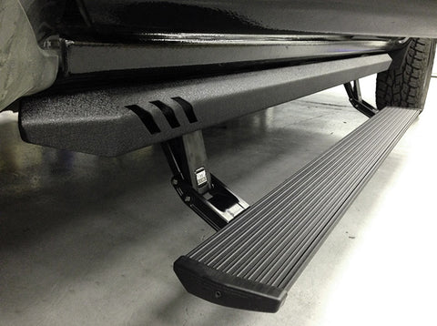 AMP  Research PowerStep XL Running Boards - 77154-01A  Crew Cab/Double Cab 2015-2017 Chevy GMC 6.6 Duramax