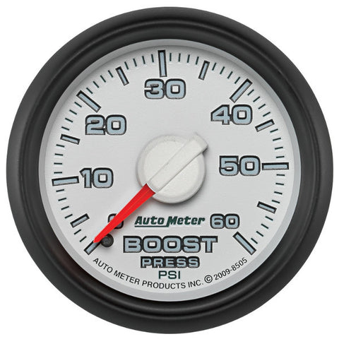 "Auto Meter  8505   2-1/16"" BOOST, 0-60 PSI, GEN 3 DODGE FACTORY MATCH"
