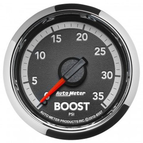 "Auto Meter 8507  2-1/16"" BOOST, 0-35 PSI, 4Th Gen  DODGE FACTORY MATCH"