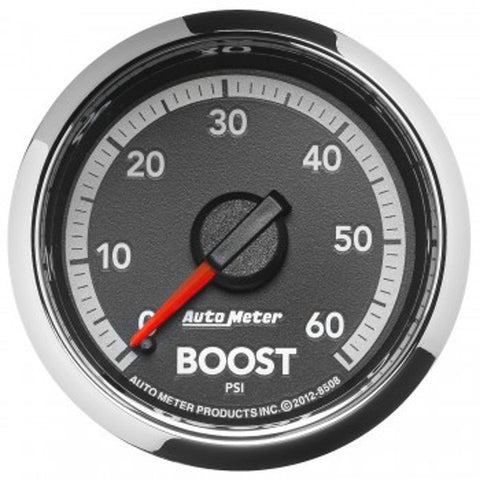 "Auto Meter 8508    2-1/16"" BOOST, 0-60 PSI, 4th Gen DODGE FACTORY MATCH"