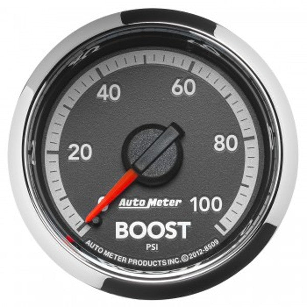 "Auto Meter 8509  2-1/16"" BOOST, 0-100 PSI, 4Th Gen DODGE FACTORY MATCH"