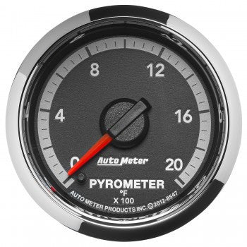 "Auto Meter 8547    2-1/16"" PYROMETER, 0-2000 °F, 4th Gen  DODGE FACTORY MATCH"