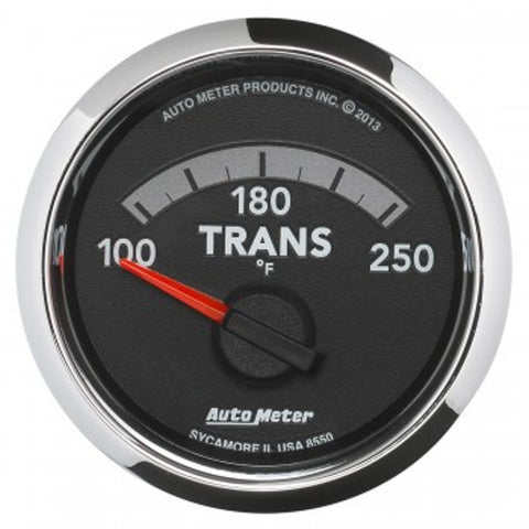 "Auto Meter 8550   2-1/16"" TRANSMISSION TEMPERATURE, 100-250 °F, 4th Gen  DODGE FACTORY MATCH"