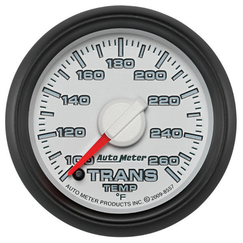 "Auto Meter  8557 2-1/16"" TRANSMISSION TEMPERATURE, 100-260 °F, GEN 3 DODGE FACTORY MATCH"