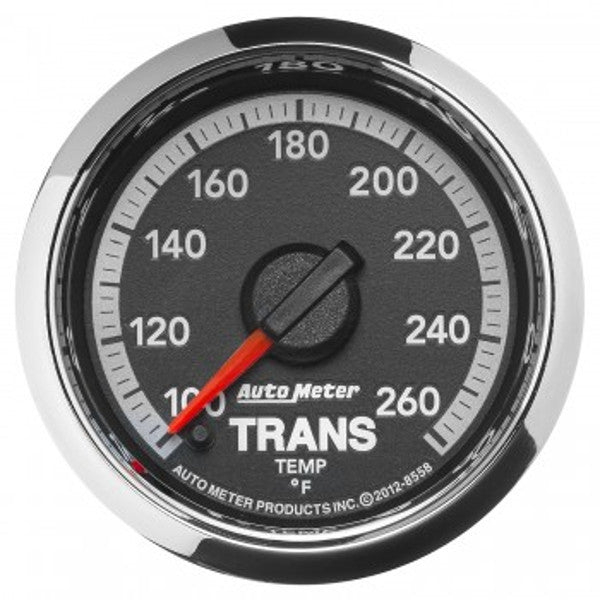 "Auto Meter 8558   2-1/16"" TRANSMISSION TEMPERATURE, 100-260 °F, 4th Gen DODGE FACTORY MATCH"
