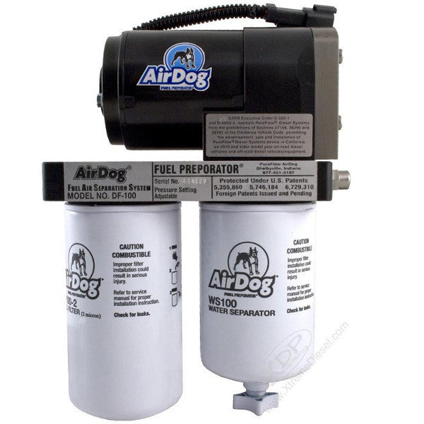 AirDog II    A6SPBD253   DF-100   Air/Fuel Separation System 1998.5 - 2004  Dodge  Cummins  (Without In-Tank Pump)