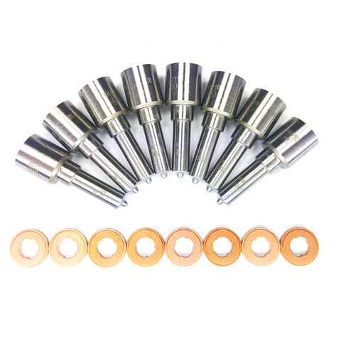 Dynomite Diesel Products DDP LBZXXNZ High Flow Injector Nozzle Set  2006-2007 Chevy/GMC LBZ Duramax