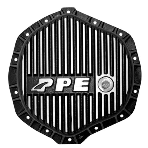 PPE 138051010 REAR HEAVY DUTY DIFFERENTIAL COVER - BRUSHED    2001-2019 GM DURAMAX | 2003-2018 DODGE CUMMINS* (WITH AA14-11.5 AXLES)