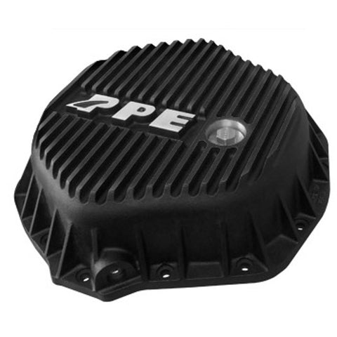 PPE 138051020 REAR HEAVY DUTY DIFFERENTIAL COVER - BLACK  2001-2019 GM DURAMAX | 2003-2018 DODGE CUMMINS* (WITH AA14-11.5 AXLES)