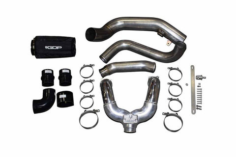 GDP GDP27003 2017-2019 6.7L POWERSTROKE | INTERCOOLER PIPING KIT *RAW*