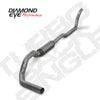 "Diamond Eye  K4212A  1994 - 2002 Dodge Cummins  4""  Aluminized  System (With Muffler)"