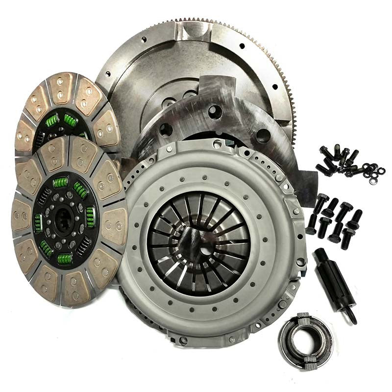 Valair Street Dual Disc Clutch NMU70NV45DDSN  1994-2003 Dodge 5.9L Cummins NV4500 5-Speed (650HP 1200 ft-Lbs.)*