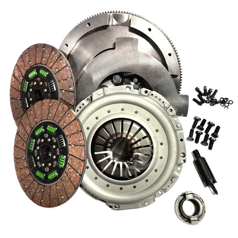 Valair Street Dual Disc Clutch NMU70NV56DDSN-ORG  2001-2005 Dodge 5.9L Cummins NV5600 6-Speed (550HP & 1100 Ft-Lbs)