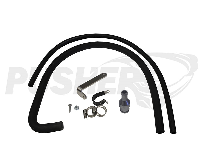 Pusher Coolant Reroute  for 2013-2020 RAM 6.7L Cummins (Removes Coolant up-pipe to Cooler)