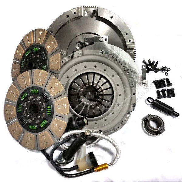 Valair QG56DDSN Quiet Street Dual Disc Clutch   2005.5 - 2018 Dodge 5.9L/6.7L Cummins 6-Speed (650HP 1200 ft-Lbs.)