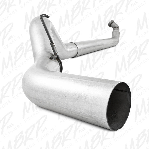 "MBRP 2004.5 - 2007 Dodge Cummins 2500 / 3500 5"" , Single Side - (No muffler) S6116PLM"