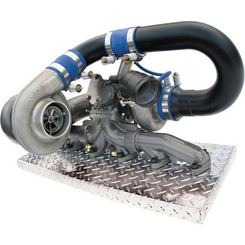 "BD-Power 1045320 Super ""B"" Twin Turbo Kit 1998-2002 Dodge 5.9L Cummins"