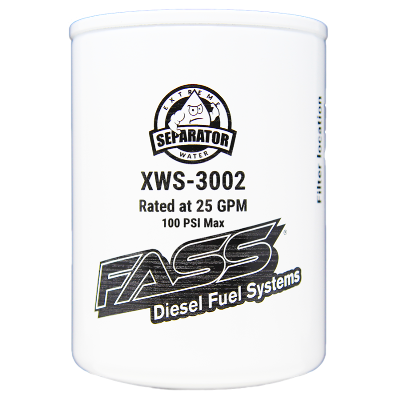 fass titanium series fuel water separator replacement xws